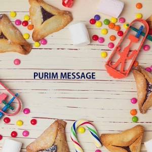 Purim in Forest Hill synagogue